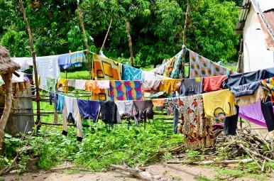 Laundry day in Njawara