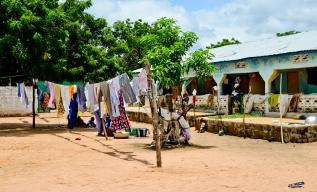 Alexandra's compound in Bakadaji Jailand