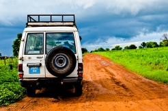 Badass vehicle. Bush roads.